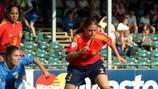 Verónica Boquete scored twice as Spain defeated Romania 4-0