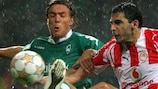 Clemens Fritz (links) wird heute Abend gegen S.S. Lazio dabei sein