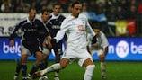 Dimitar Berbatov de penalti logró el gol del empate para el Tottenham