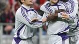 L'Anderlecht festeggia