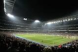 El Estadio Santiago Bernabéu, campo del Madrid