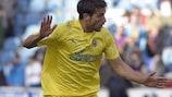 Sebastián Eguren in action for Villarreal