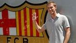 Alexandr Hleb konnte sich bisher noch keinen Stammplatz beim FC Barcelona erobern