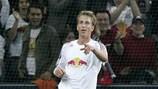Salzburg striker Marc Janko (left) has been among the goals