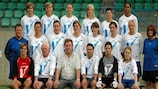 Die Mannschaft des KVK Tienen (Belgien)