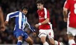 Cesc Fàbregas in action against Porto