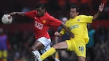 El Manchester United y el Villarreal jugaron en la primera jornada