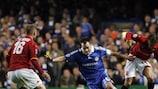 John Terry (Chelsea FC), Rodrigo Taddei y Daniele De Rossi (AS Roma)