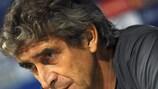 Manuel Pellegrini, técnico del Villarreal CF