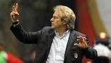 SC Braga coach Jorge Jesus has faith in his side's chances against the Belgian champions