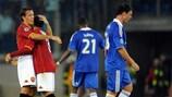 Cicinho y& Rodrigo Taddei (AS Roma), y Michael Ballack y Salomon Kalou (Chelsea FC)