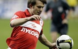 Ivan Saenko's goal got Spartak up and running in Group D