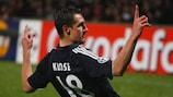 Miroslav Klose (FC Bayern München) zeigte eine perfekte Leistung