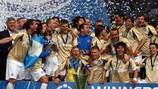 El Zenit se proclamó campeón de la Copa de la UEFA hace 15 meses