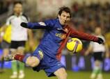 Lionel Messi (FC Barcelona) befindet sich in dieser Saison in perfekter Form