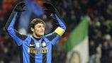 Le capitaine de l'Inter Milan, Javier Zanetti