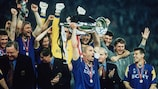 Gianluca Vialli recalls the thrill of lifting the European Champion Clubs' Cup in 1996