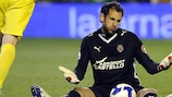 First-choice Villarreal goalkeeper Diego López