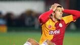 Milan Baroš damaged his left foot against city rivals Fenerbahçe