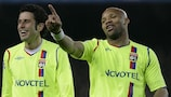 Jean-Alain Boumsong (right) has signed a three-year contract