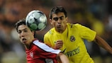 Villarreal will rely heavily on Ariel Ibagaza (right) with other midfielders absent