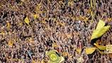 Dortmunds Fans stellen am Donnerstag einen Zuschauerrekord auf