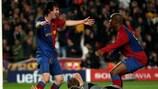Lionel Messi e Samuel Eto'o entrambi a segno per il Barcellona contro il Bayern nel 2009
