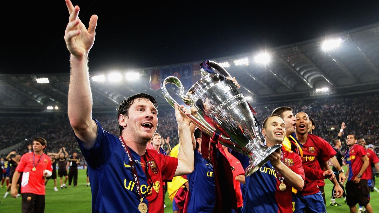 Four Days To Go Barcelona S Previous Wins Uefa Champions League Uefa Com