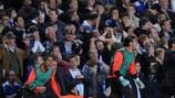 Josep Guardiola gets carried away by his team's 93rd-minute winner in west London