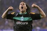 Claudio Pizarro celebrates scoring