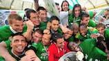 Der VfL Wolfsburg holte in Deutschland die Meisterschaft