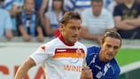 Francesco Totti scored five goals over two legs against Gent