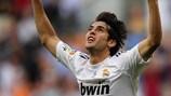 Kaká jubelt über sein Tor beim 3:0-Sieg von Real Madrid gegen Tenerife