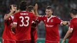 Jubelt der FC Bayern auch nach dem Spitzenspiel gegen Juve?