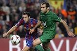 FC Barcelona take on FC Rubin Kazan in the UEFA Champions League group stage