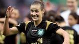 Simone Laudehr setzte den Schlusspunkt für Duisburg