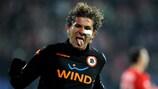 Alessio Cerci celebrates his second goal in Sofia