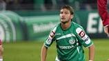 Mohammad Ghadir scored Haifa's winner against AEK Larnaca