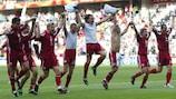 Le football letton survit à l'histoire