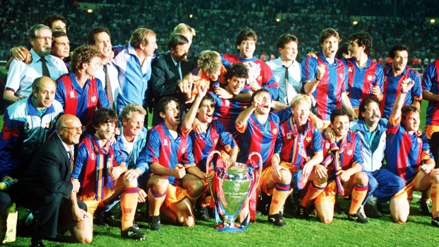 1991 92 Koeman Encumbra Al Barça Uefa Champions League Uefa Com