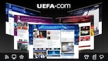 UEFA.com was relaunched on 5 February 2010