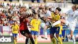 Un momento de la pasada final sub-19 entre Suecia e Inglaterra