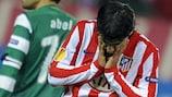 """Серхио Агуэро был самым активным в рядах """"Атлетико"""""""