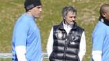Mourinho lascia a casa i ricordi