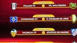 UEFA Europa League draw in full