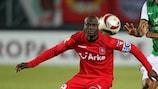 Blaise Nkufo has blossomed into a goalscoring legend at Twente