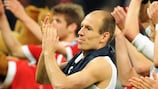 Arjen Robben celebrates after the final whistle