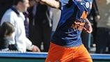 Costa celebrates Valencia switch