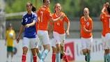 Lieke Martens anotó cuatro goles para Holanda en una decepcionante jornada para la campeona Francia
