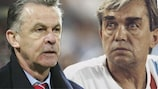Ottmar Hitzfeld and Ernst Happel were both European champions with two clubs